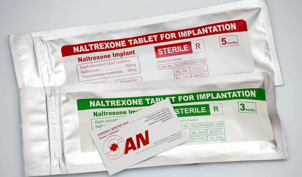 Имплантация Налтрексона в Демихово цена